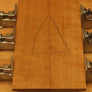 glue up panel triangle